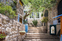 Visiting Safed In Northern Isr...