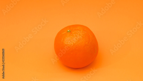 Orange avec fond écran de couleur Tapéta, Fotótapéta