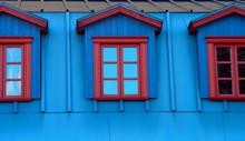 Blue House Facade Skylight Win...