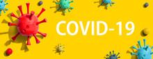 COVID-19 Coronavirus Theme Wit...