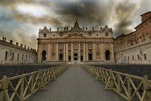 The Vatican Before A Storm