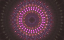 Abstract Background With Mandala Shape