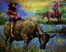 Art Painting Oil Color Hut Nor...