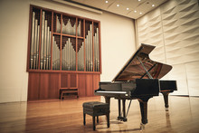 Grand Piano On Stage