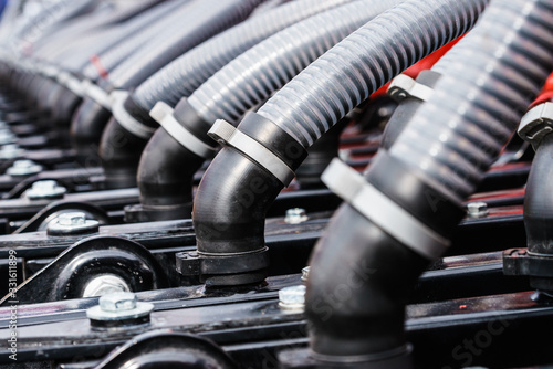Obraz Flexible plastic pipe - fototapety do salonu