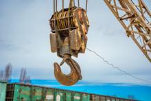 Industrial Crane Hook Arm Indu...