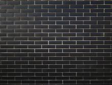 Black Brickwall Background, Bu...