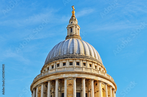 St Pauls Cathedral Dome, London, England, United Kingdom Wallpaper Mural