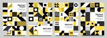 Neo Geometric Posters. Modern ...
