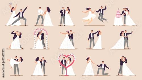 Canvas Wedding couples