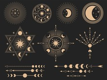 Mystic Magic Symbols. Vector I...