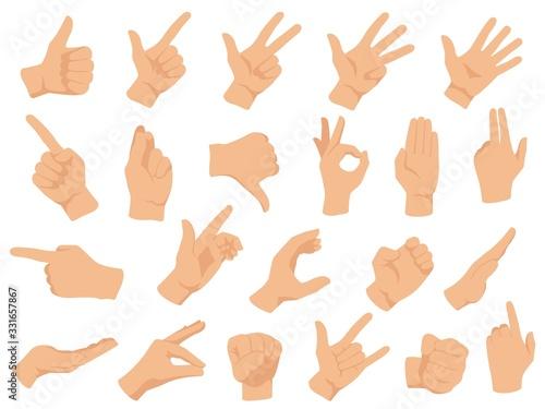 Hand gestures Canvas-taulu