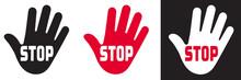 STOP AVEC MAIN