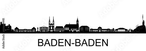 Fototapeta Baden-Baden Skyline obraz