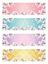 桜バナーセット