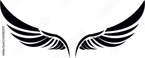 Obraz  WINGS eps- Angel Wings- wings cut file- wing eps- angel eps - fototapety do salonu