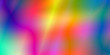 canvas print picture - smooth bright glowing spectrum gradient abstract