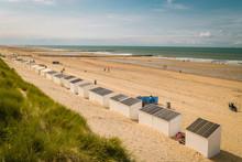Beach Poles On The Beach Of Do...
