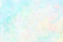 淡い色の手描き水彩背景