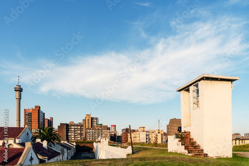 Photo Famous Constitution Hill in Johannesburg, South Africa