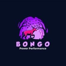 Vector Logo Illustration Bongo...