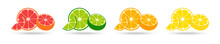 Citrus Collection. Set Of Fres...