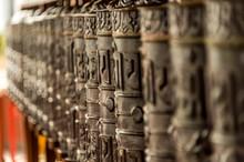 Namo Buddha, Nepal-prayer Wheel