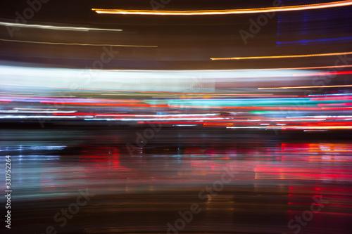 Fototapeta Smugi nocnego miasta obraz