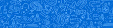 Seamless Pattern With Summer T...