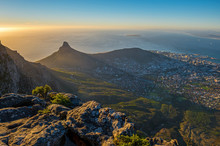 Cityscape Of Cape Town City An...
