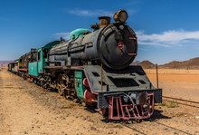 Wadi Rum Tourist Train Jordan
