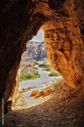 Cueva Desierto Bardenas Canvas Print