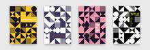 Abstract Geometric Shapes Patt...