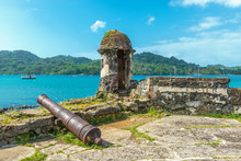 Old Spanish Cannon At The Fort...