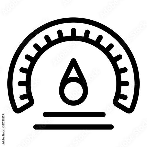 Photo Barometer measurement icon