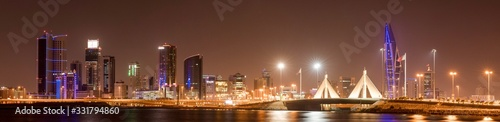 Photo Bahrain City at Night