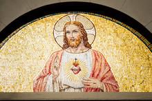 Fresque En Mosaïques Dans Une...