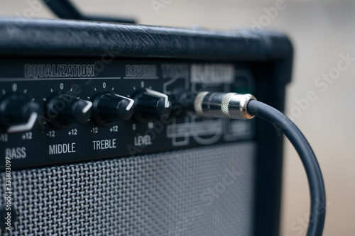 Photo Сord jack cable to Electric Guitar Amplifier