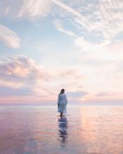 Walking On Water Sunrise
