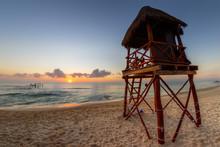 Sunrise Over Tropical Beaches ...