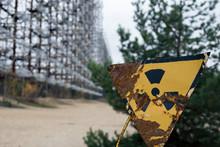 Pripyat Radiation Warning Sign...