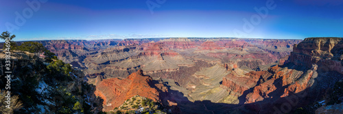 Grand Canyon Ultra Wide Panorama Canvas Print