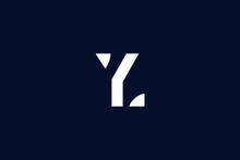 Initial Based Clean And Minimal Logo. YL LY Y L Letter Creative Fonts Monogram Icon Symbol. Universal Elegant Luxury Alphabet Vector Design