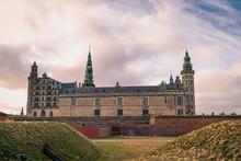Kronborg Castle In Helsingor, Denmark Was Immortalized As Elsinore In William Shakespeare's Play Hamlet
