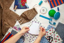 Painting, Fabrics And Sewing A...
