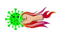 Hand Punching Virus Vector