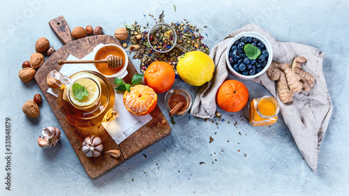 Photo Remedies for cold and flu.