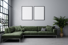 Stylish Interior Of Bright Liv...