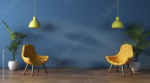 Modern interior design Fototapeta