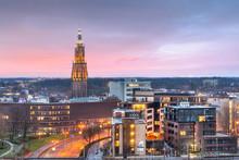 Amersfoort, Netherlands Town Skyline